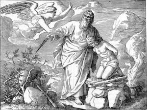 Sacificio del hijo de Abraham