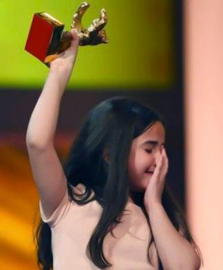 خرس طلایی برلین در دستان خواهرزاده جعفر پناهی